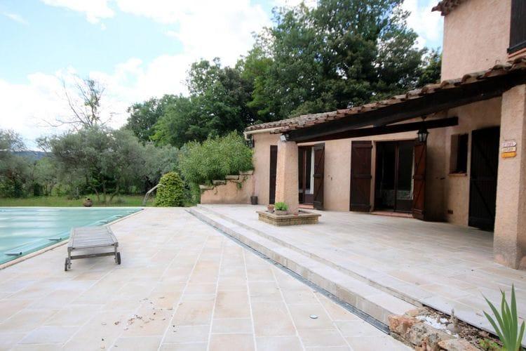 Vakantiewoning huren in Salernes - met zwembad  met wifi met zwembad voor 8 personen  Vakantiewoning met privé zwembad ..