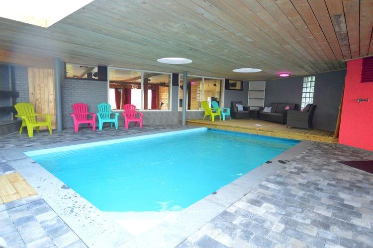 Belgie | Luik | Vakantiehuis te huur in Trooz met zwembad  met wifi 19 personen