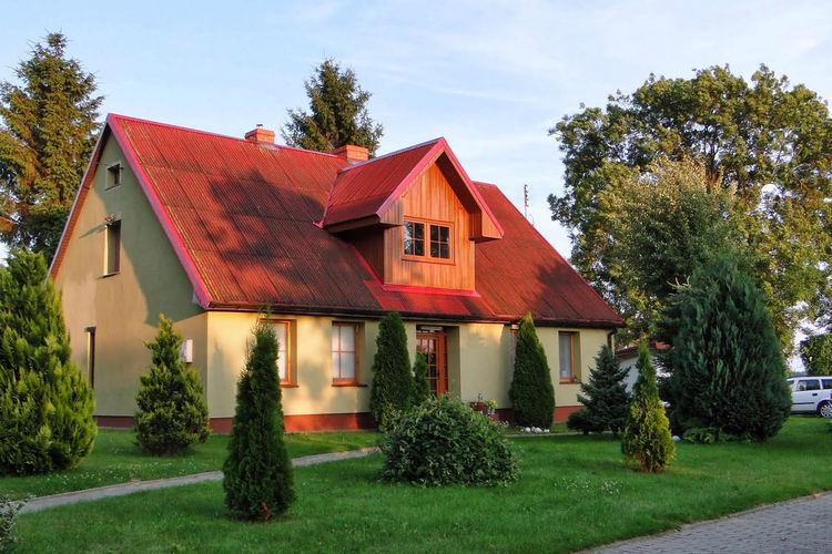 Vakantiehuis  met wifi  KarniceA holiday home in the countryside 7 km from the beach