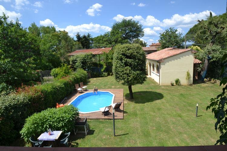 Vakantiewoning met zwembad met wifi  Civitella in val di Chiana  Een vakantie tussen Arezzo, Cortona en Siena en dan thuis in het privé zwembad!