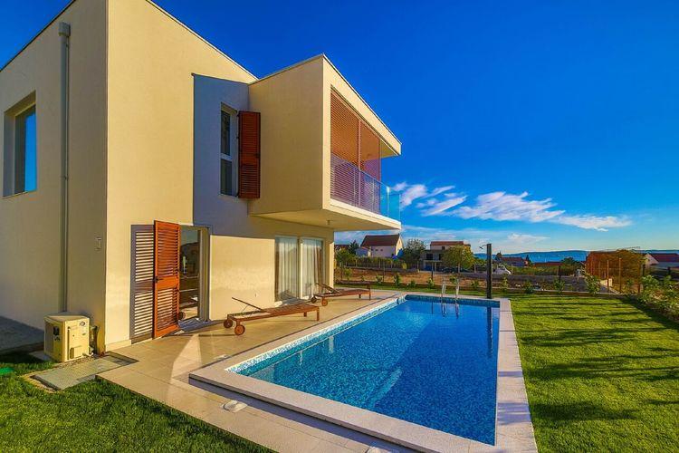 Kroatie | Dalmatie | Villa te huur in Katel-Gomilica met zwembad  met wifi 10 personen