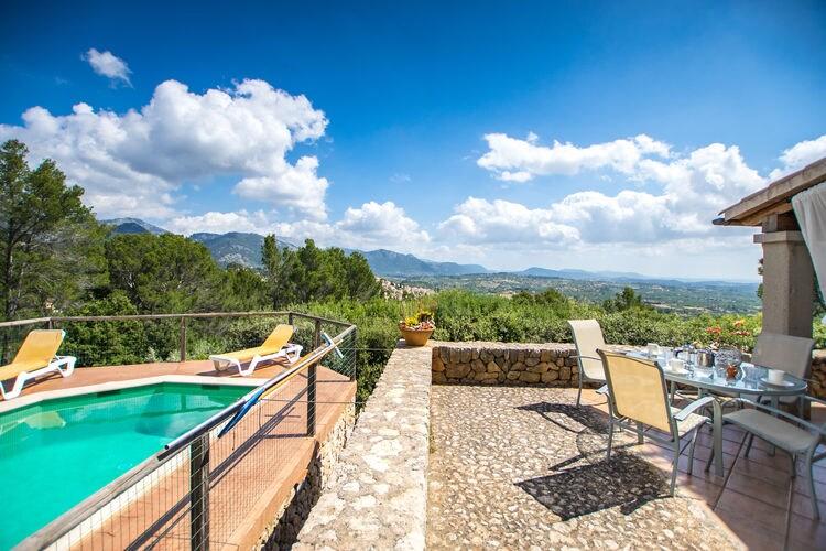 vakantiehuis Spanje, Mallorca, Selva vakantiehuis ES-07313-22