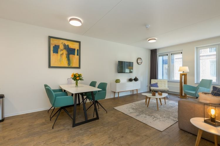 Appartementen Nederland | Zeeland | Appartement te huur in Zoutelande   met wifi 4 personen