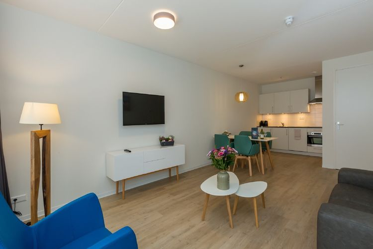Vakantiewoning Nederland, Zeeland, Zoutelande Appartement NL-4374-08