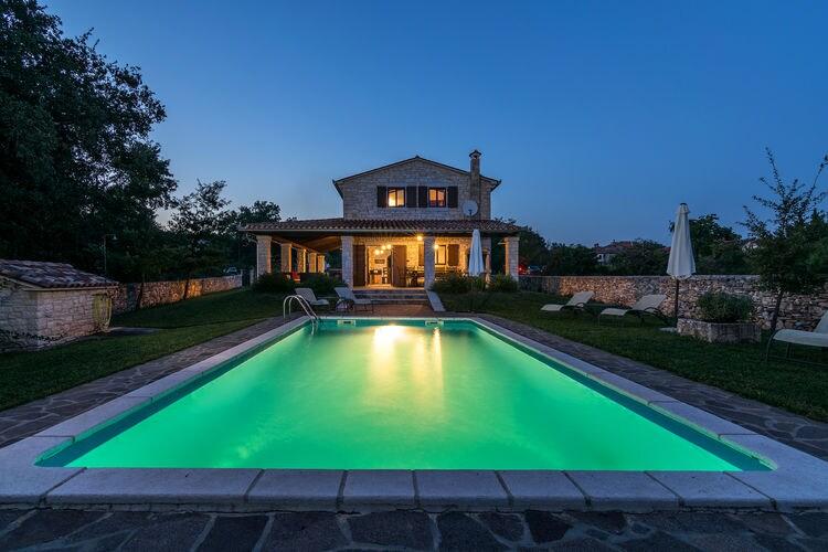 Villa Kroatië, Istrie, Tinjan Villa HR-00012-83