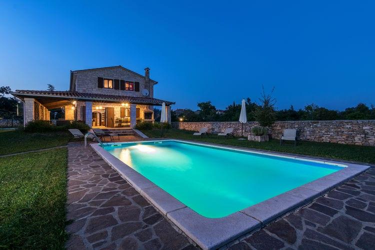 Kroatie   Istrie   Villa te huur in Tinjan met zwembad  met wifi 10 personen