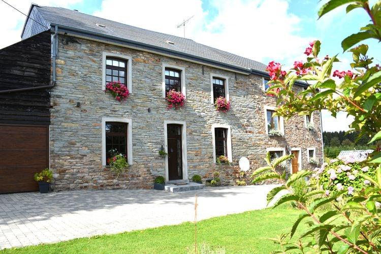 Vakantiehuizen Belgie | Luxemburg | Vakantiehuis te huur in Vaux-sur-Sure   met wifi 4 personen