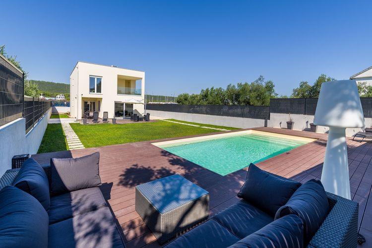 Kroatie | Dalmatie | Villa te huur in Bibinje met zwembad  met wifi 8 personen
