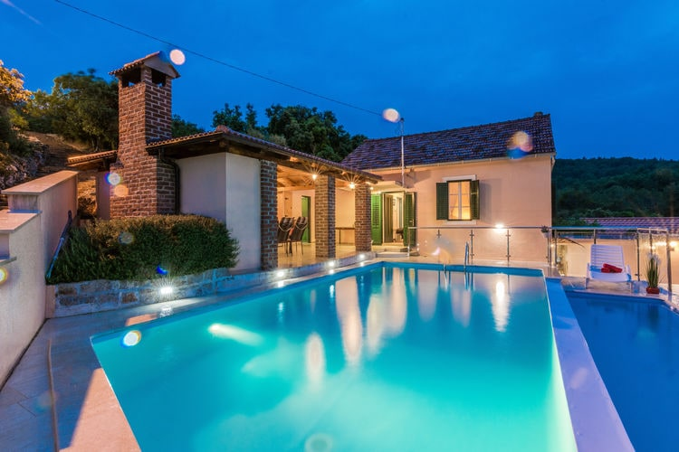 Villa Kroatië, Dalmatie, Mali Iz Villa HR-00013-09