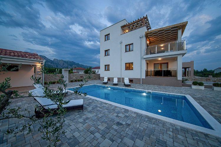 Villa Kroatië, Dalmatie, Seline Villa HR-00013-13