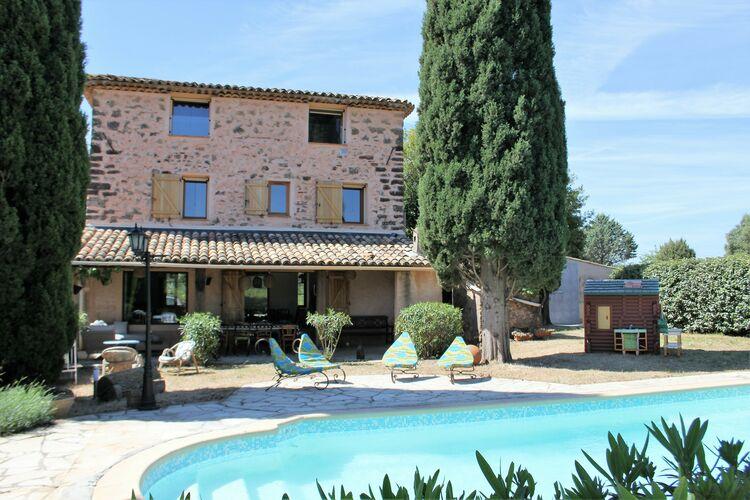 Vakantiehuizen Frankrijk | Provence-alpes-cote-d-azur | Villa te huur in La-Motte met zwembad  met wifi 8 personen