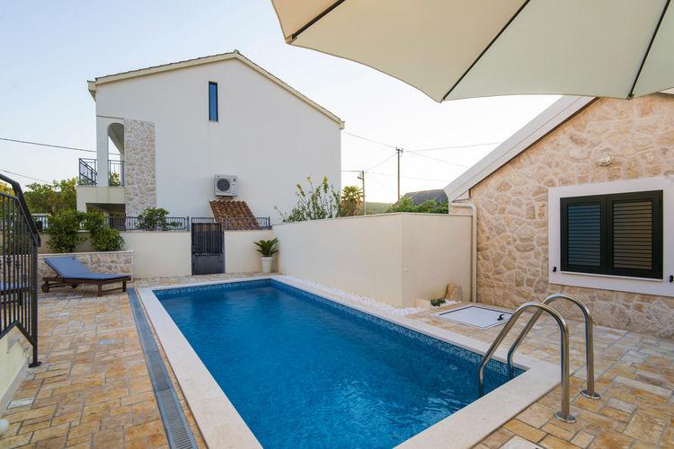 Villa Kroatië, Dalmatie, Vinjerac Villa HR-00013-20