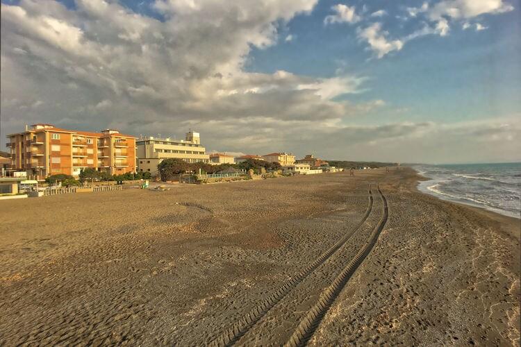 Prachtig appartement gelegen aan het strand van Marina di Castagneto Carducci