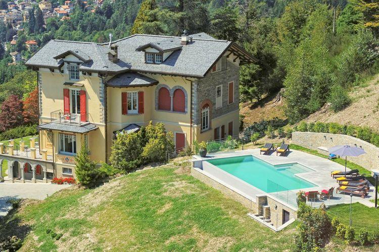 Villa met zwembad met wifi  PremenoLago Maggiore Premeno Villa Dodici