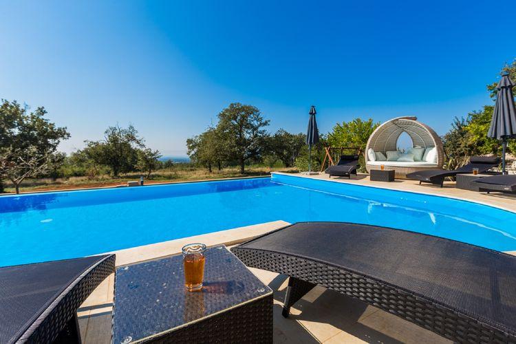 Vakantiewoning Kroatië, Istrie, Kaštelir  - Poreč Villa HR-00013-41