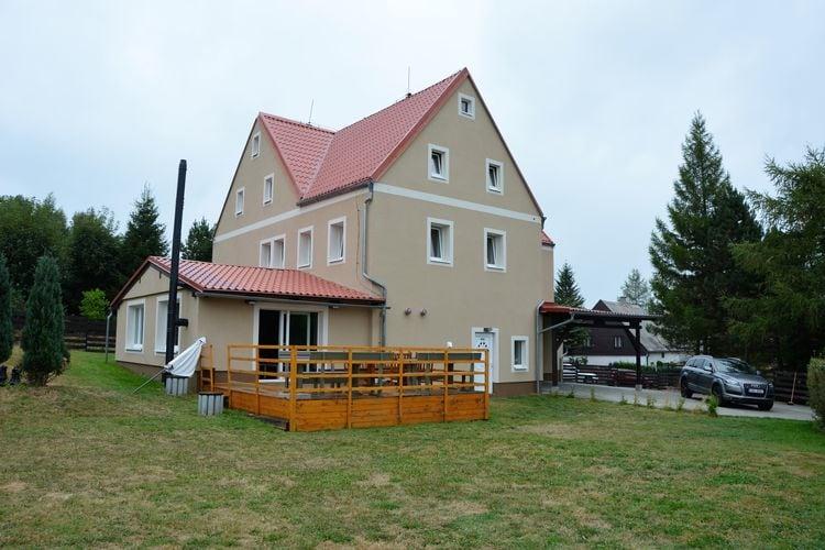 vakantiehuis Tsjechië, West-Bohemen, Kovářská vakantiehuis CZ-43186-02