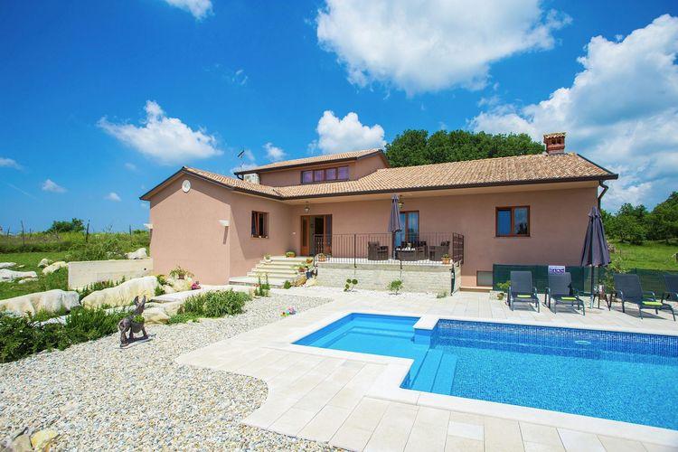 Villa Kroatië, Istrie, Motovun Villa HR-52424-13