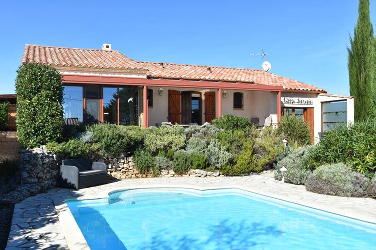 Vakantiehuis met zwembad met wifi  Assignan  Villa Rivato I