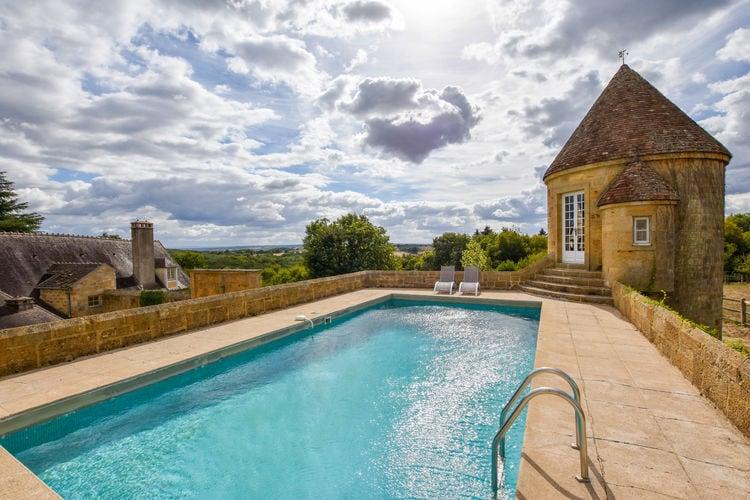 Vakantiehuizen Frankrijk | Auvergne | Vakantiehuis te huur in Meaulne met zwembad  met wifi 10 personen