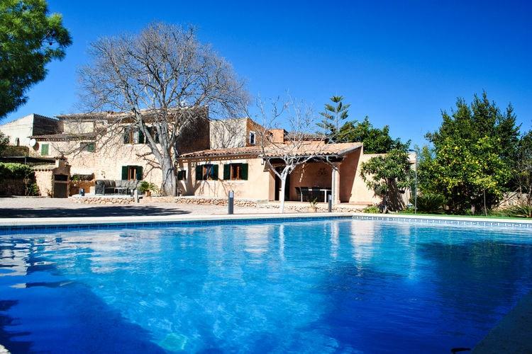Vakantiehuizen Santa-Maria-del-Cami te huur Santa-Maria-del-Cami- ES-07320-08 met zwembad  met wifi te huur