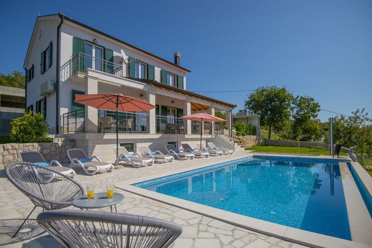 Kroatie | Dalmatie | Villa te huur in Glavina-Donja met zwembad  met wifi 11 personen