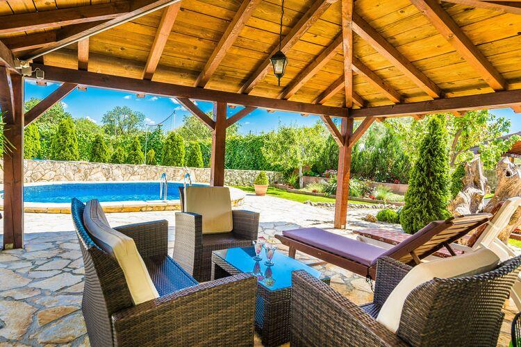vakantiehuis Kroatië, Dalmatie, Zemunik Gornji vakantiehuis HR-23222-02