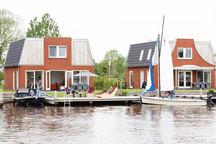 Vakantiewoning Nederland, Friesland, Akkrum vakantiewoning NL-8491-14