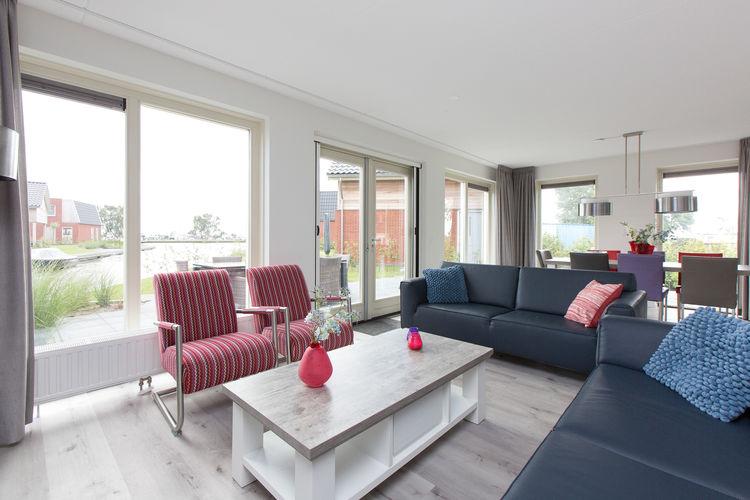 vakantiehuis Nederland, Friesland, Akkrum vakantiehuis NL-8491-15