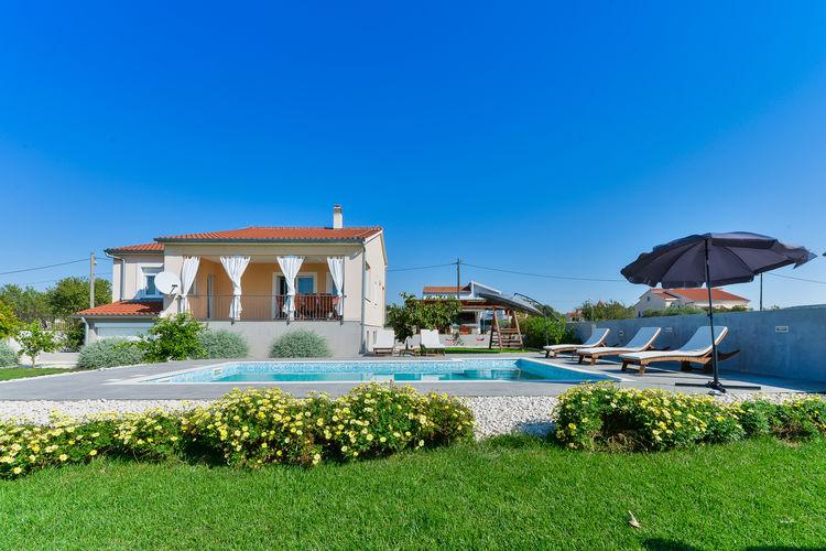 Kroatie | Dalmatie | Villa te huur in Debeljak met zwembad  met wifi 7 personen