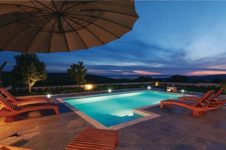 Villa Kroatië, Dalmatie, Debeljak Villa HR-23206-14