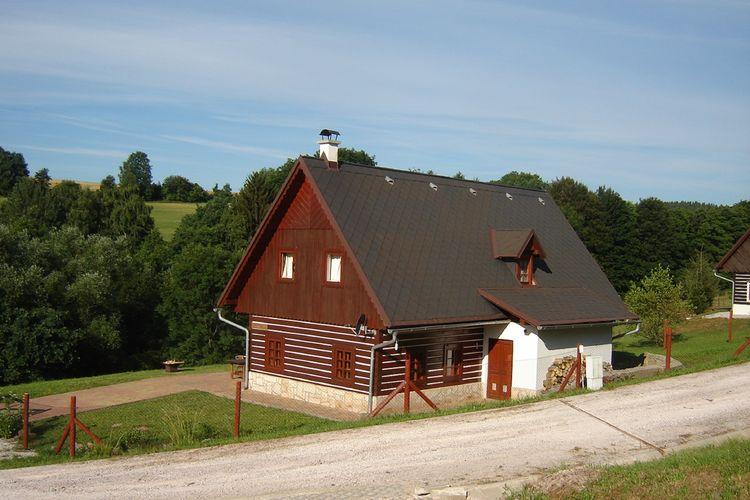 Tsjechie | Reuzengebergte-Jzergebergte | Villa te huur in Vidochov met zwembad  met wifi 8 personen