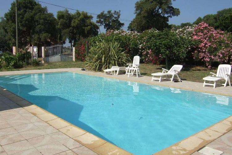 Vakantiehuis met zwembad met wifi  Porto-Vecchio  Petite Suara