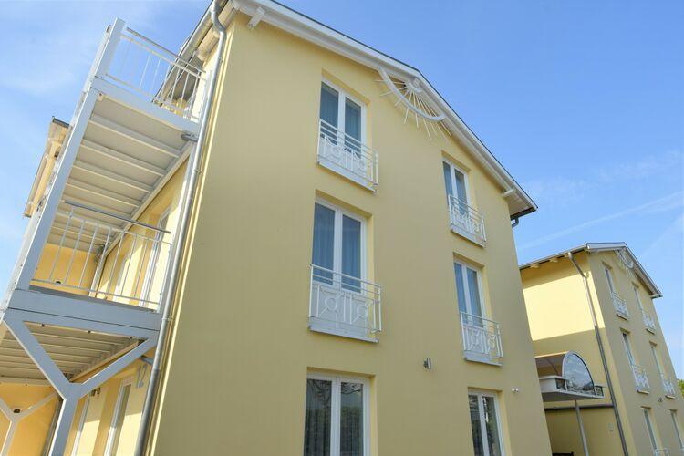 Appartement  met wifi  GohrenDas Balkonappartement C in Strandnähe