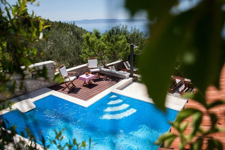 Kroatie | Dalmatie | Villa te huur in Veliko-Brdo met zwembad  met wifi 4 personen