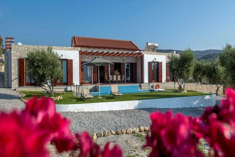 Griekenland | Kreta | Villa te huur in Kyrianna met zwembad  met wifi 12 personen