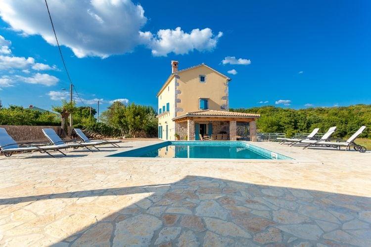 Villa Kroatië, eld, Malinska Villa HR-00013-82