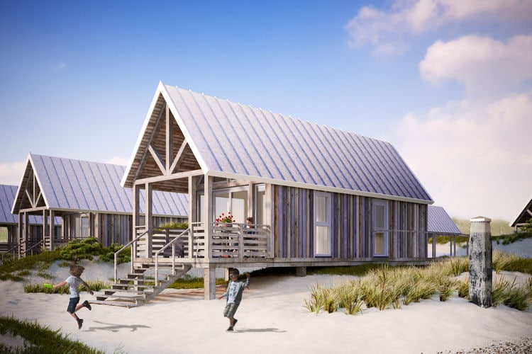 Vakantiehuizen Nederland | Zeeland | Vakantiehuis te huur in Nieuwvliet-Bad   met wifi 4 personen