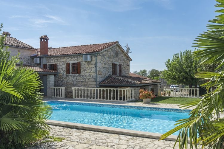 Four-Bedroom Holiday House Maria Nora with Pool  Istria Croatia