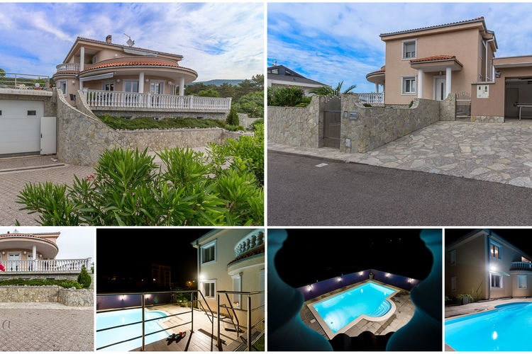 Vakantiehuizen Kroatie | Kvarner | Villa te huur in Crikvenica met zwembad  met wifi 12 personen