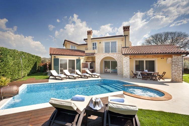 Kroatie | Istrie | Villa te huur in Labinci   met wifi 8 personen