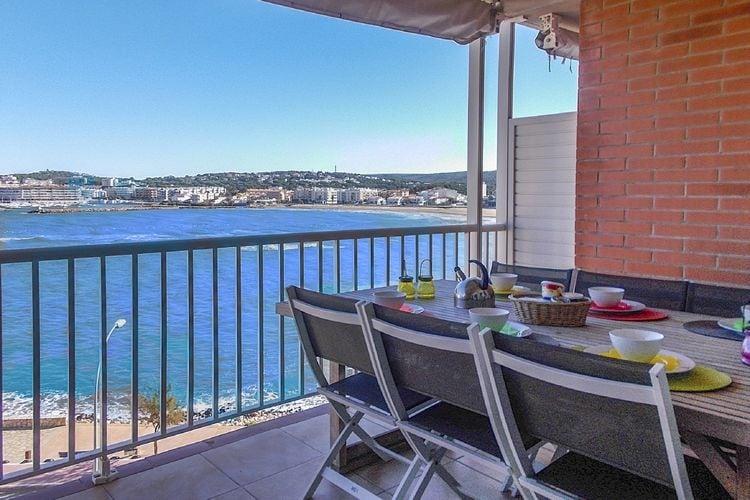 Appartementen Spanje | Costa-Brava | Appartement te huur in LEscala met zwembad  met wifi 8 personen