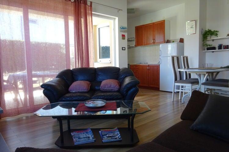 Appartement Kroatië, eld, Malinska Appartement HR-00014-09