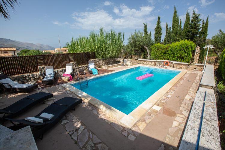 Villas Italie | Sicilia | Villa te huur in Castellammare-del-Golfo met zwembad  met wifi 7 personen