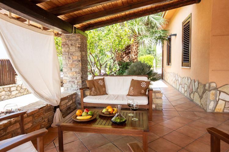 Italie   Sicilia   Villa te huur in Castellammare-del-Golfo met zwembad  met wifi 5 personen