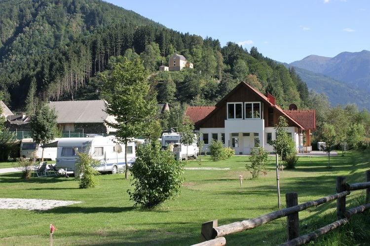 Sta caravan Oostenrijk, Kaernten, Sachsenburg Sta caravan AT-9751-01