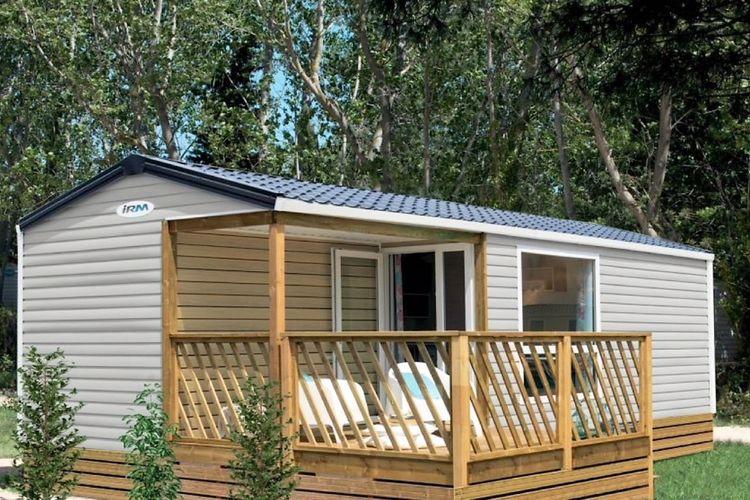 Oostenrijk Sta caravans te huur Nieuwe luxe mobilhome op een kleine, vriendelijke camping aan rivier de Drau