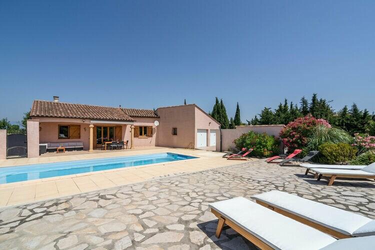 Villa Frankrijk, Languedoc-roussillon, Castelnau-d