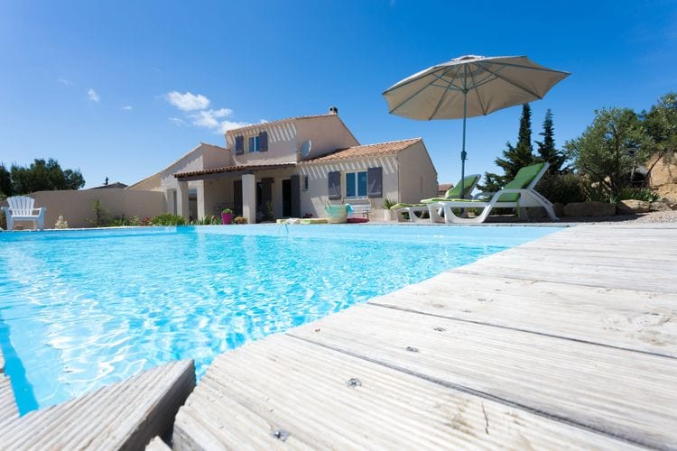 Vakantiehuizen Frankrijk | Languedoc-roussillon | Villa te huur in Beaufort met zwembad  met wifi 8 personen