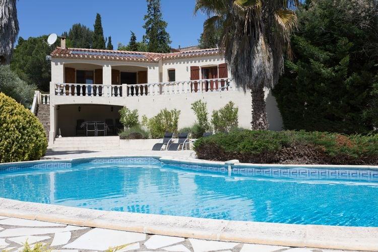 Vakantiehuizen Frankrijk | Languedoc-roussillon | Villa te huur in Beaufort met zwembad  met wifi 7 personen