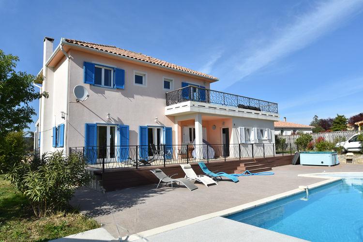 Villa met zwembad met wifi  BeaufortClos des Oliviers